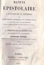 Page de titre du manuel de Louis Philippon de la Madelaine (1734-1818)
