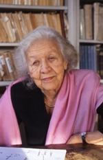 Jacqueline de Romilly de l'Académie française et de l'Académie des inscriptions et belles lettres