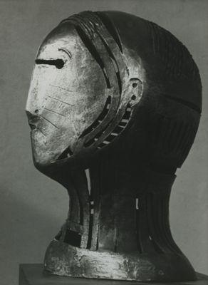 Henry Moore, Openwork Head No.2 <link:Tête ajourée no 2>, 1950