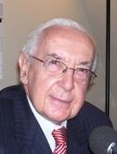 Jacques de Larosière, ancien directeur du FMI et membre de l'Institut
