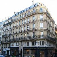 Immeuble haussmannien rue Monge à Paris