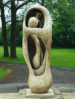 Henry Moore, Upright Internal\/External Form, 1952-53