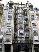 Immeuble de la rue Franklin  à Paris, Auguste et Gustave Perret, 1903