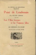 Page de couverture de Point de Lendemain (1777)