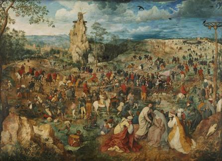Le Portement de Croix, 1564