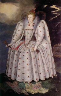 The Ditchley Portrait, 1592, par Marcus Gheeraerts