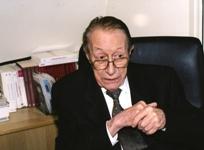 Pierre Buser, neurobiologiste, membre de l'Académie des sciences