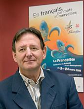 Gérald Paquette, directeur de l'Office québécois de la Langue française