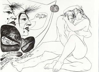 Planche extraite de Moâ le Clown de Pierre-Yves Trémois, 1985