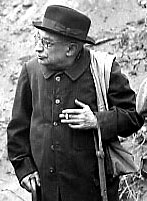 L'abbé Breuil en 1954