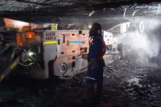 Mines de Forzando en Afrique du Sud