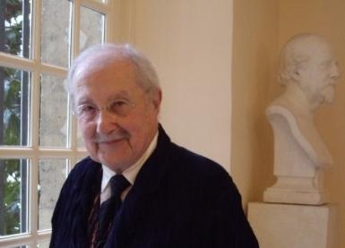 Claude Parent à l'Institut de France, 2 avril 2008
