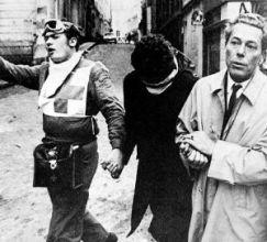 Jacques Monod (à droite) lors des évènements de mai 68