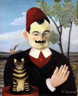 Pierre Loti, vu par Henri Rousseau, 1891