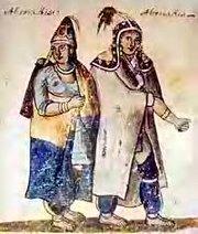 couple d'indiens Abénaquis.