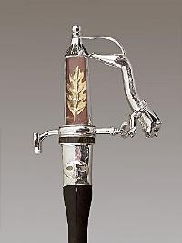 Épée de Raymond Barre ( 1924-2007 )membre de l'Académie des sciences morales et politiques