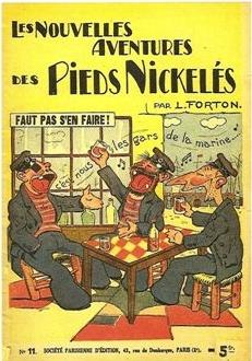 """Louis Forton,  Les Pieds Nickelés de Forton , """"Faut pas s'en faire"""""""