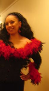 Liza Michael, 12 avril 2008 en costume de scène