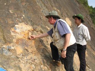 Philippe Janvier à Dong Van au Viet Nam en décembre 2007