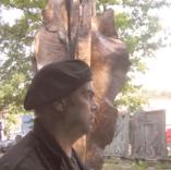 Carlos Ferreira, patineur à la Fonderie d'art de Coubertin, 9 juin 2008