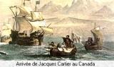 Arrivée de Jacques Cartier au Canada