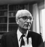 Claude Lévi-Strauss par Louis Monier, en 1988.