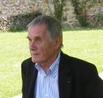 Pierre Schoendoerffer, Président de l'Académie des beaux-arts, à la Fonderie de Coubertin le 9 juin 2008