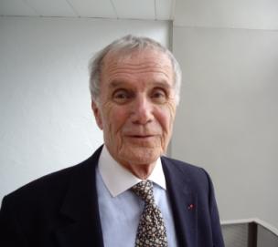 Pierre Schoendoerffer de l'Académie des beaux-arts