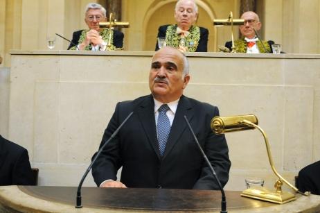 Prince El Hassan Bin Talal, 16 juin 2008 Institut de France