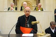 Le cardinal Roger Etchegaray, le 16 juin 2008 Institut de France