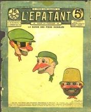 Couverture de l'Épatant, 1910, in  Jean Tulard  Les Pieds Nickelés de Forton , dans la collection Une œuvre, une histoire,  Armand Colin, 2008.