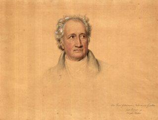 Joseph Karl Stieler, Johann Wolfgang von Goethe