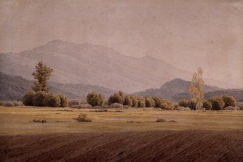 Caspar David Friedrich (1774-1840), The Schneegruben Mountains