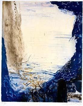 Zao Wou-Ki, Eau forte et aquatinte, 1994