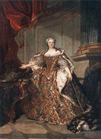Marie Leczinska ( 1703-1768 ) Reine de France et de Navarre