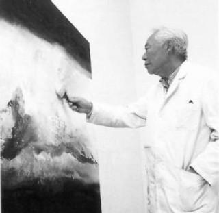 Arrivé à Paris en 1948, Zao Wou-Ki s'enrichit au contact de Monet, Matisse et Klee