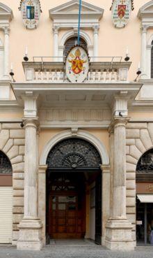 L'Académie, piazza della Minerva (Rome).