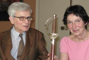 Benard d'Espagnat et Elizabeth Antébi