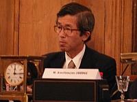 Son Excellence M.Yutaka Iimura, ambassadeur du Japon, 23 mai 2008, académie des inscriptions et belles-lettres