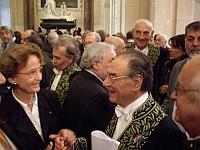 Philippe Beaussant, le 23 octobre 2008, sous la Coupole de l'Institut de France
