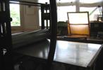 Presse, atelier de Catherine Gillet