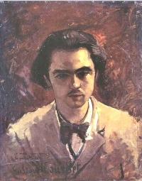 Verlaine par Gustave Courbet