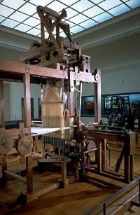La machine à tisser construite par Jacques Vaucanson en 1744