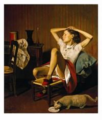 Thérèse rêvant © The Metropolitan Museum of art, Jacques and Natasha Gelman Collection, 1998 (1999.363.2)
