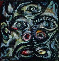 Jackson Pollock, Head (Tête), vers 1938-1941