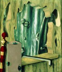 René Magritte, Le Gouffre argenté, 1926