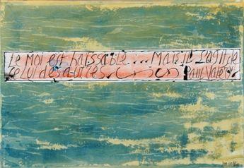 Jean Cortot. Le moi est haïssable... mais il s'agit de celui des autres. Paul Valéry