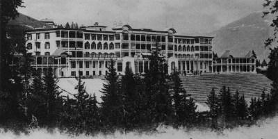 Sanatorium dans les années 1900