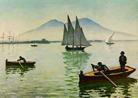 La Baie de Naples, d'Albert Marquet. 1902