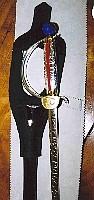 L'épée d'académicien du peintre Jean Cortot